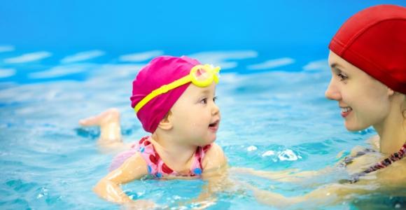 Скидка 50% на абонемент в бассейн детского центра