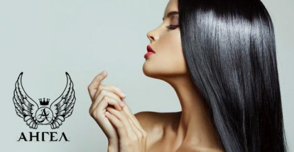 Скидка от 50% на ботокс для волос в салоне красоты