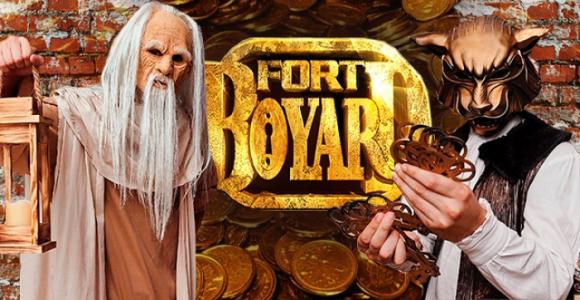 Скидка 2000 рублей на новогоднее квест-шоу в Форт Боярд