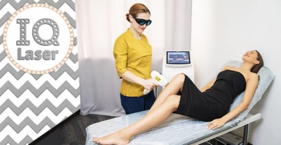 Скидка до 74% на лазерную эпиляцию для женщин и мужчин в студии