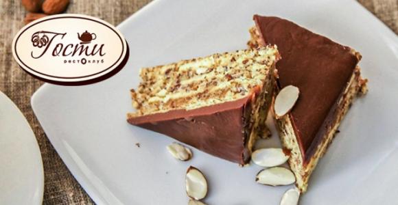 Скидка 50% на Шведский десерт в рестоклубе Гости
