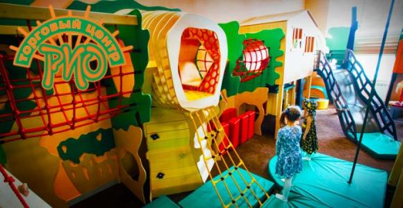 Скидка 50% на посещение игровой комнаты в ТРЦ РИО