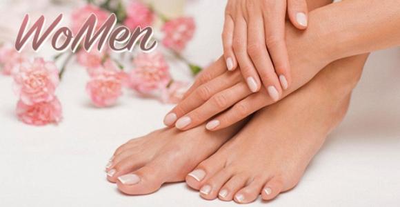 Скидка 50% на ногтевой сервис, оформление ресниц и бровей в студии красоты WoMen