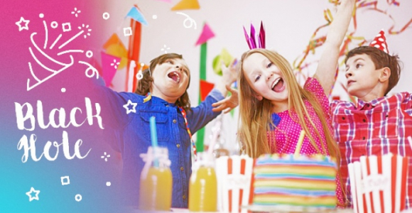 Скидка 1000 рублей на детский праздник с квестом в