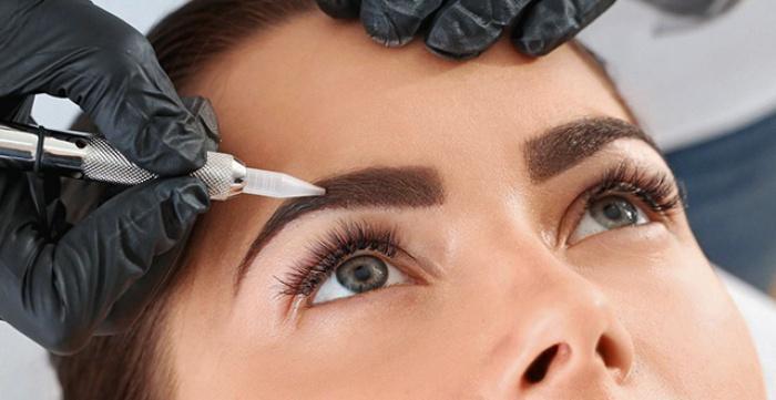 Скидка 50% на перманентный макияж бровей в студии MyFavorite