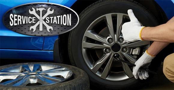Скидка 50% на переобувку автомобиля в SERVICE STATION 45 (ул. Дзержинского)