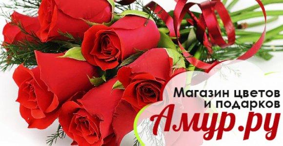 Букет из 7 роз с оформлением от Амур.ру