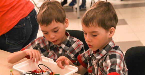 Скидка 50% на абонемент по Робототехнике для детей 6-12 лет