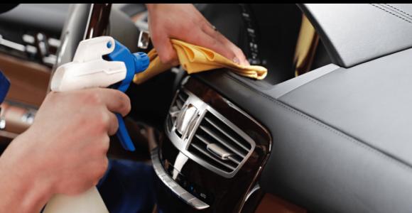 Скидка 63% на химчистку салона автомобиля в