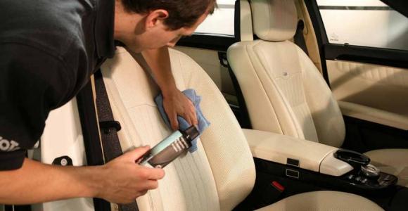 Скидка 63% на химчистку салона автомобиля