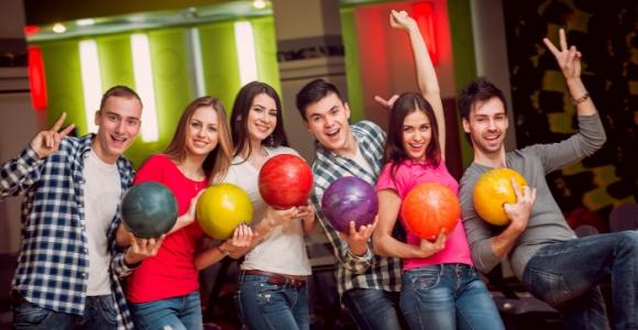 Скидка 60% на два часа игры в боулинг-клубе