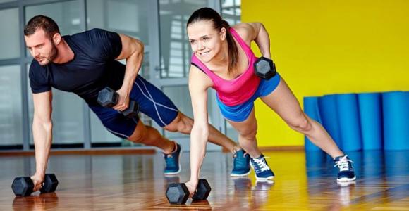 Скидка 67% на 1 месяц занятий в фитнес-клубе OLIMPIA