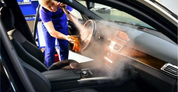 Скидка до 59% на химчистку салона автомобиля в